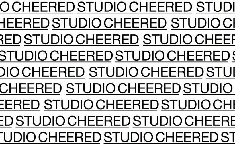 Studio Cheered Header