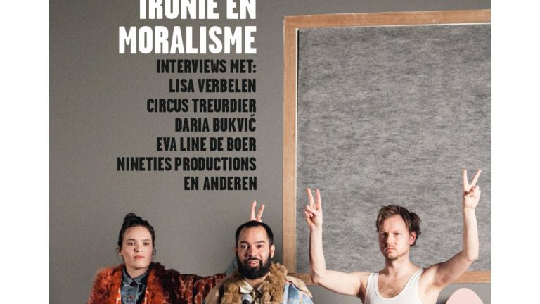 Omslag Theatermaker oktober 2017, foto Circus Treurdier