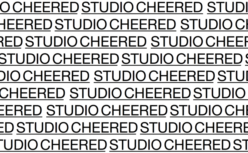 Studio Cheered Header